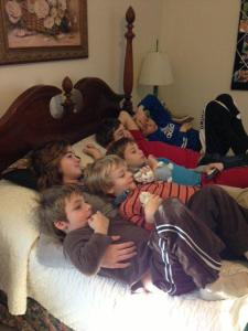 Passel of kids
